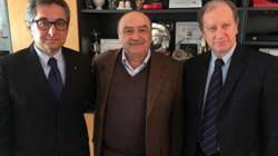 Incontro fra i presidenti della Federazione Ginnastica d'Italia e della Federazione Sammarinese Ginnastica