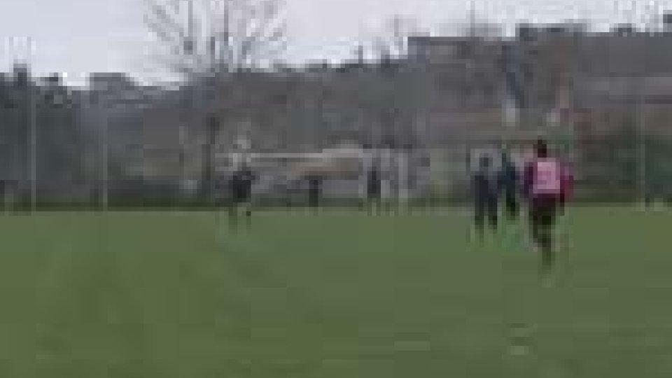 Il San Marino in allenamento