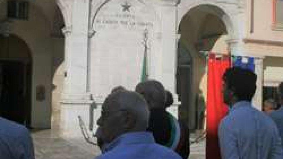 Cerimonia omaggio ai Martiri Riminesi fucilati a Fossoli