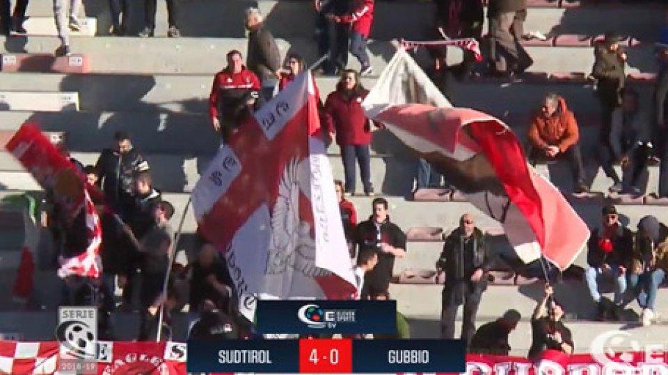 Südtirol - Gubbio 4-0Südtirol - Gubbio 4-0
