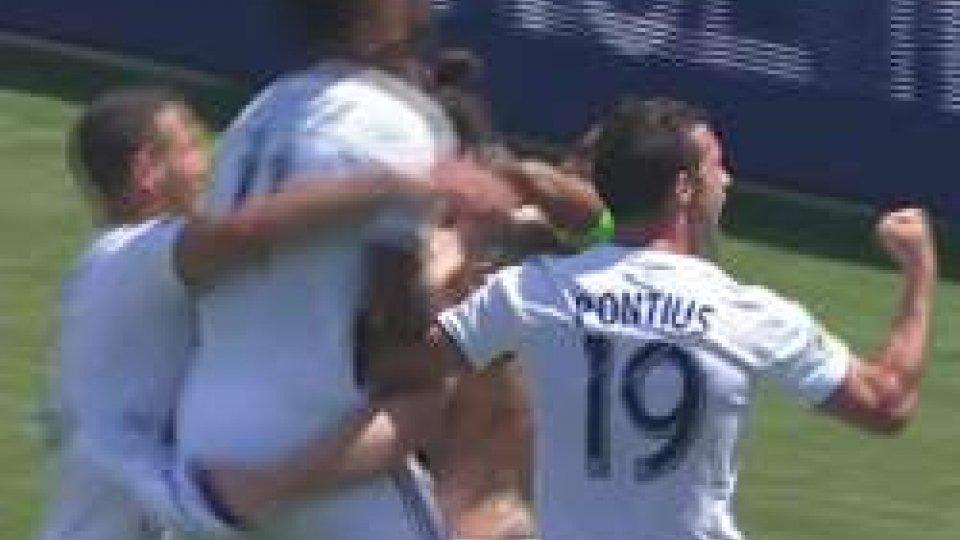 MLS - Esordio da incorniciare per Ibrahimovic
