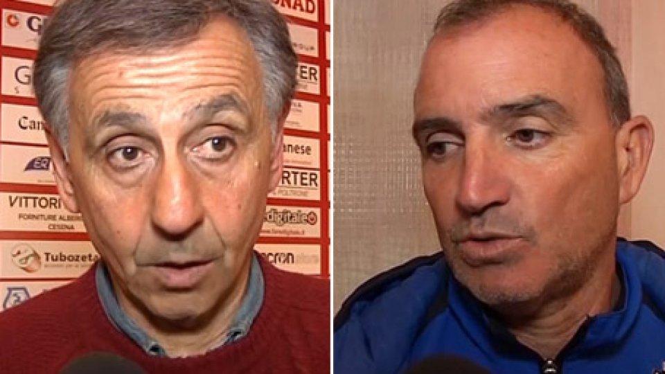 "Oscar Farneti e Beppe AngeliniFarneti e Angelini: ""Un pari giusto"""
