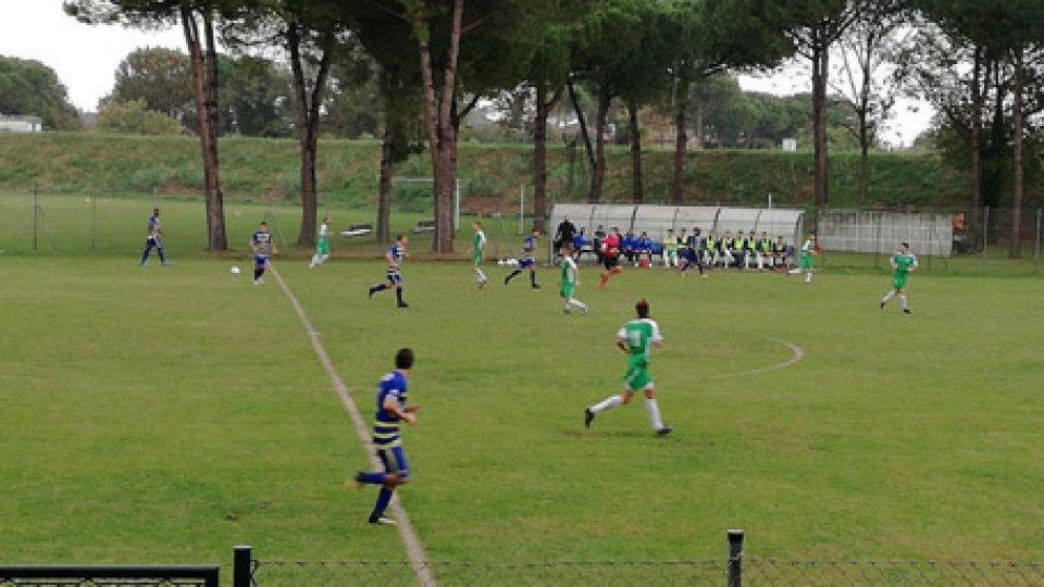 San Marino - Ciliberghe 0-0San Marino-Ciliverghe 0-0, a fine partita lungo colloquio Mancini-Muccioli