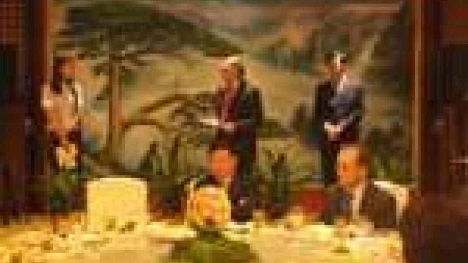 San Marino - Delegazione sammarinese in Cina a Huangshan