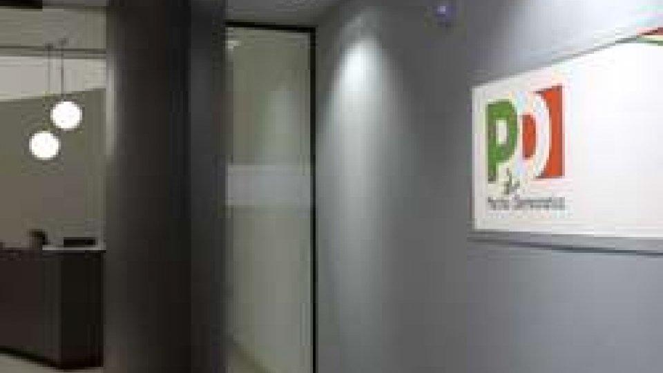 """La sede del PDDirezione Pd: """"Faremo opposizione seria e responsabile"""""""