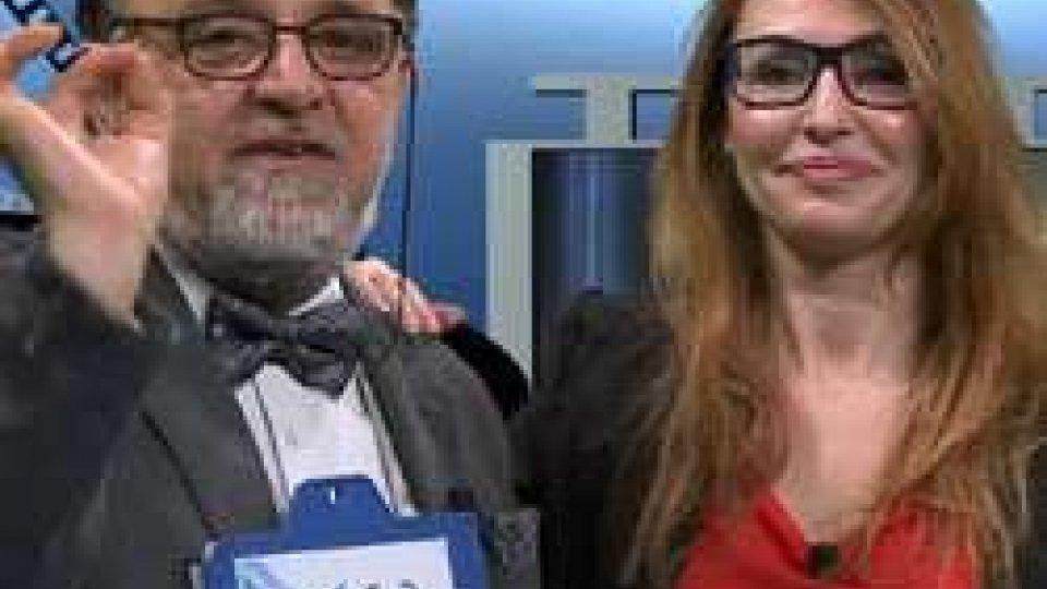 Francesco Zingrillo e Monica FabbriAL CINEMA in TV per la XIX: (sta)volta con DE LUIGI
