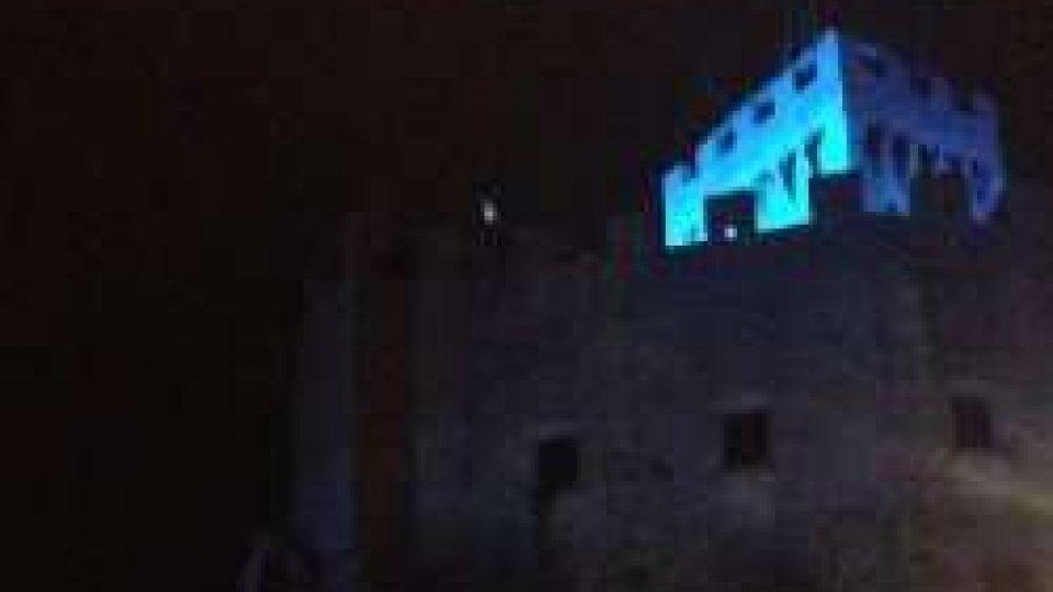 San Marino: torri blu per l'autismo