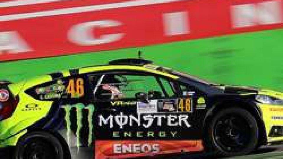 Valentino RossiRally Monza Show: vittoria con il brivido per Valentino Rossi