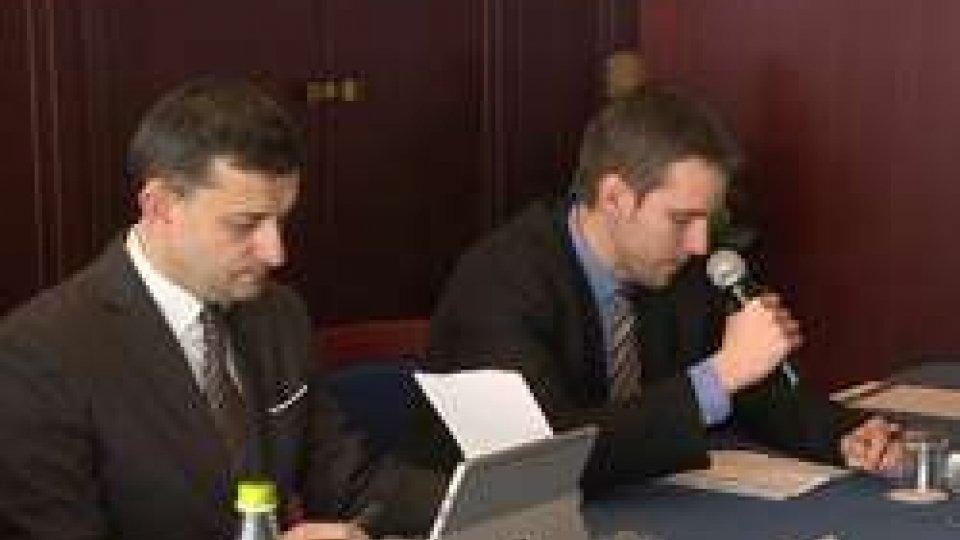 George Bologan e Andrea ZafferaniNuove opportunità di investimento San Marino-Romania, oggi l'incontro tra imprenditori e diplomatici