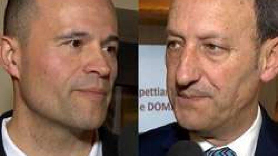 """Stacchini e GiardiStacchini e Giardi in coro: """"Evento che promuove lo sport e il Paese"""""""