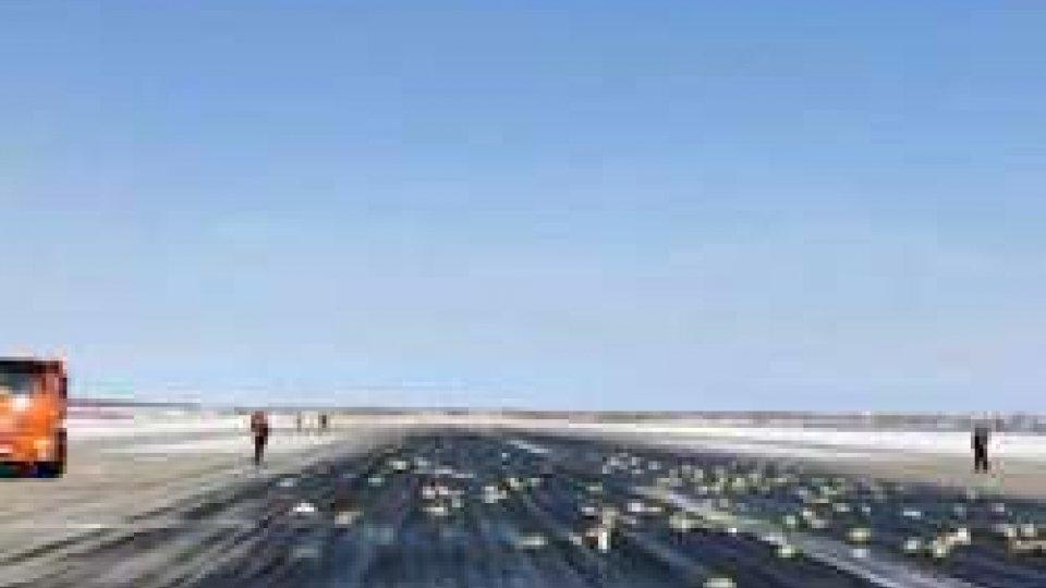 Aereo perde lingotti d'oro in Siberia