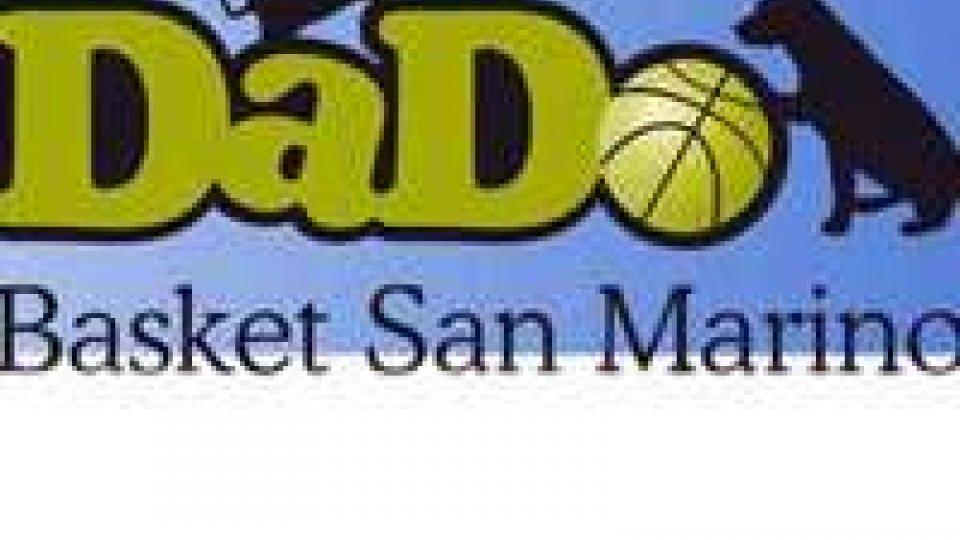 Basket, prima vittoria in campionato per la Dado San Marino