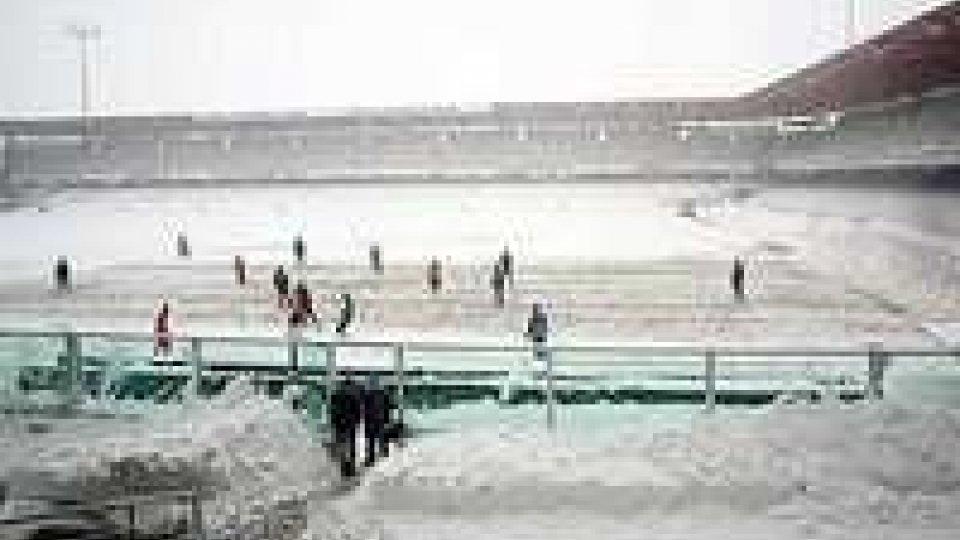 Serie b: rinviata Cesena Ascoli per neve