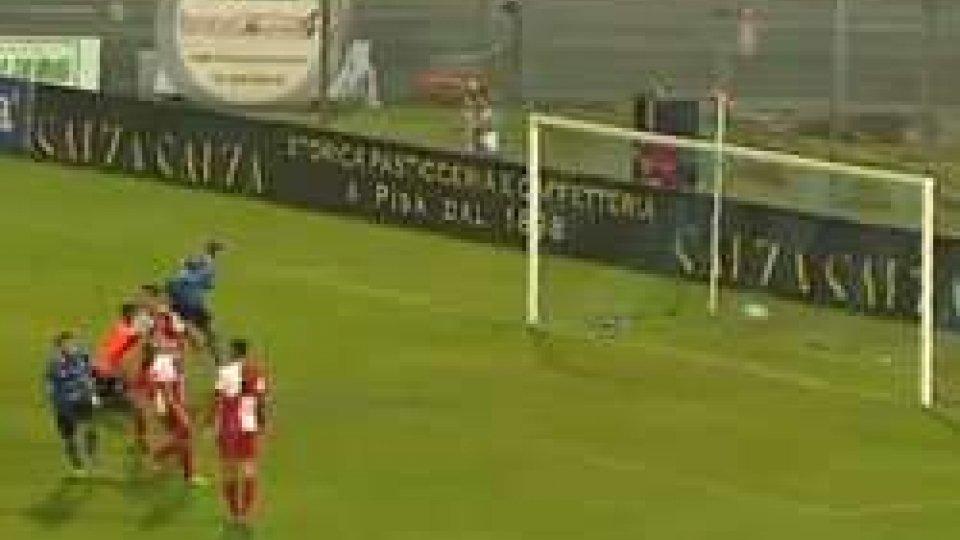 Lega Pro: Pisa - Rimini 2-0Lega Pro: nulla da fare per il Rimini che a Pisa rimedia la terza sconfitta