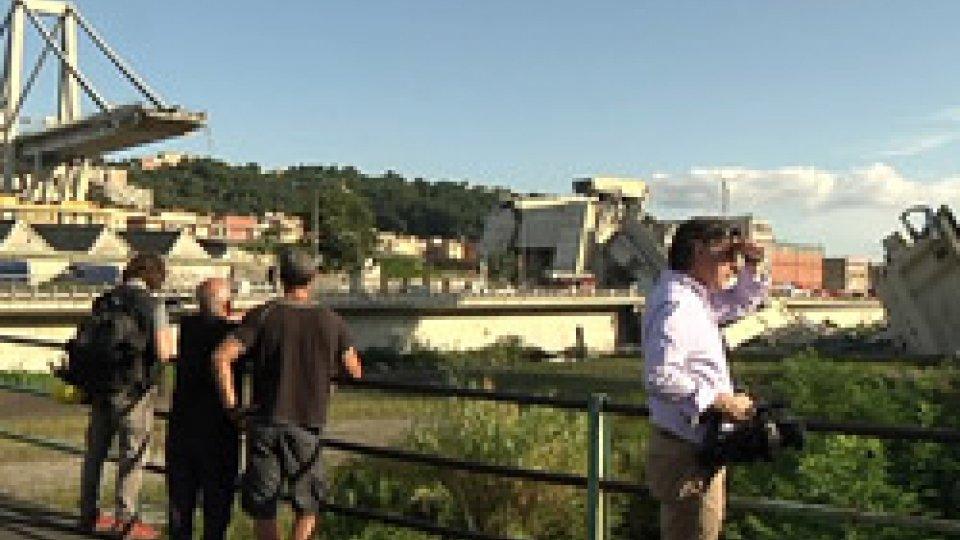 Ponte GenovaCrollo del ponte, Conte a Genova col decreto emergenza appena varato dal governo