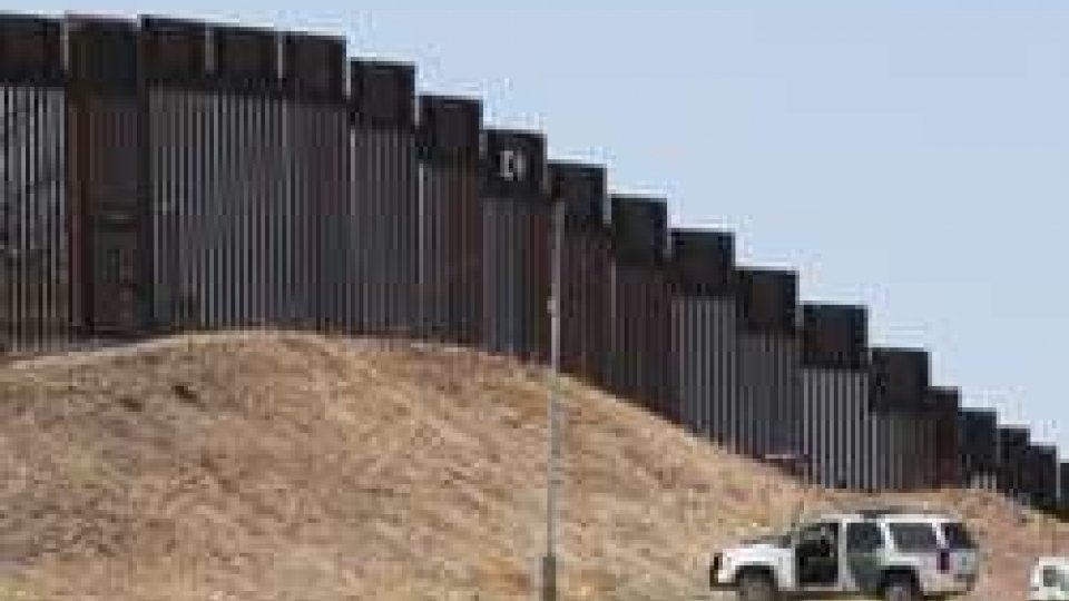 Il muro fra USA e Messico