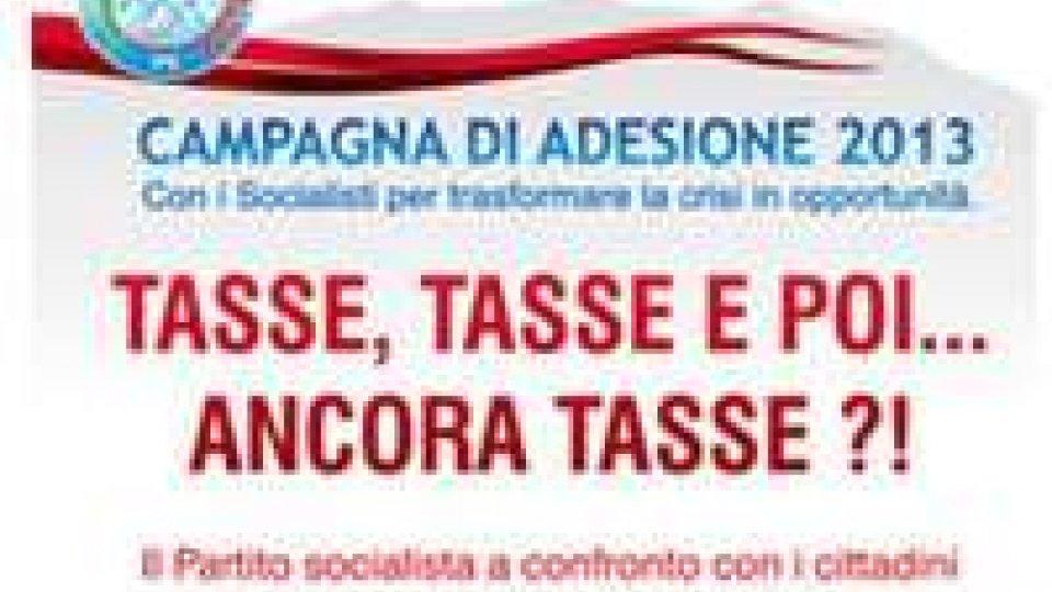 """""""Tasse, tasse e poi... ancora tasse"""", incontro del Ps a Borgo Maggiore"""
