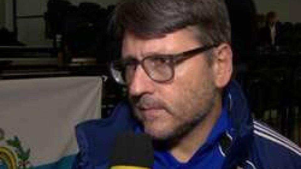 """Roberto OsimaniGrecia-San Marino 3-2, le considerazioni postpartita di Osimani: """"Abbiamo fatto molto bene"""""""