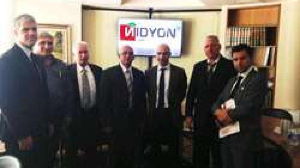Visita del Ministro delle Costruzioni cubano presso l'azienda Nidyon, insediata presso TSP
