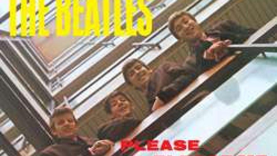 """La copertina dell'album """"Please Please Me"""""""