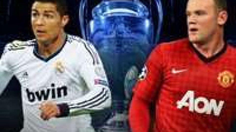Manchester United - Real Madrid: è sfida tra Ronaldo e RooneyManchester United - Real Madrid: è sfida tra Ronaldo e Rooney
