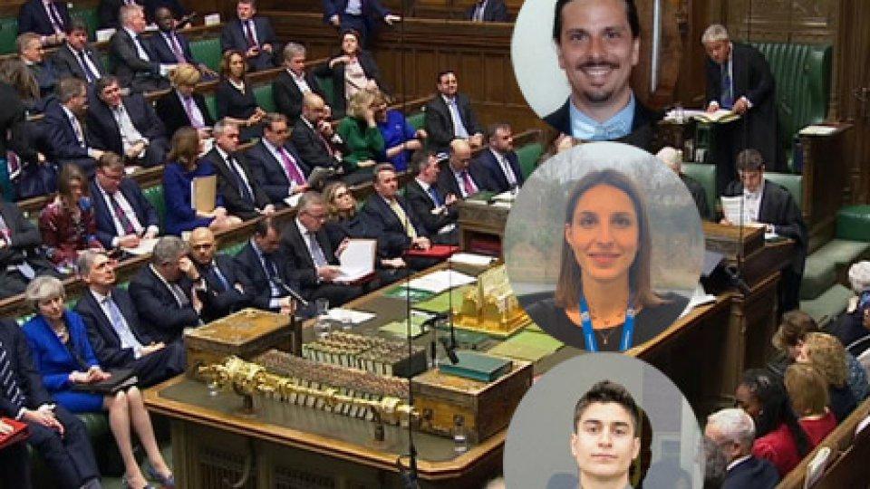Brexit e RsmBrexit: ore decisive per Theresa May, apprensione e attesa tra i giovani sammarinesi in Regno Unito