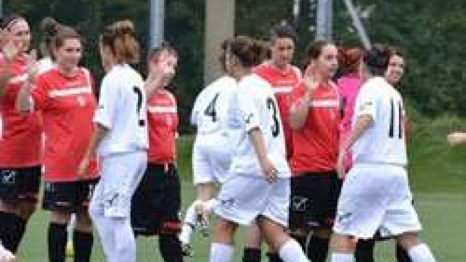 3° Giornata Camp. Serie C Femminile 2015/2016: Fed. Sammarinese - Pianora