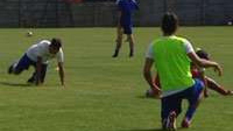 La giornata del San Marino calcio in ritiro a Sant'Agata Feltria