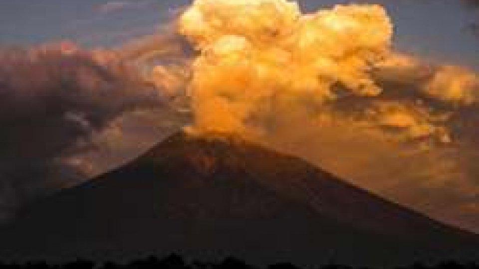 Eruzione del vulcano Agung