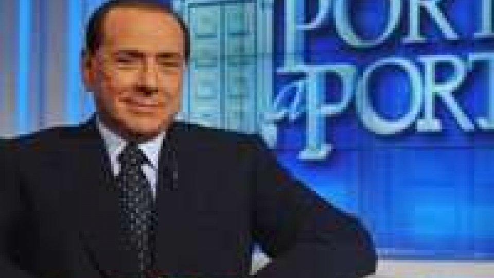 """Show di Berlusconi nel salotto di Vespa: """"avete bisogno di me"""""""