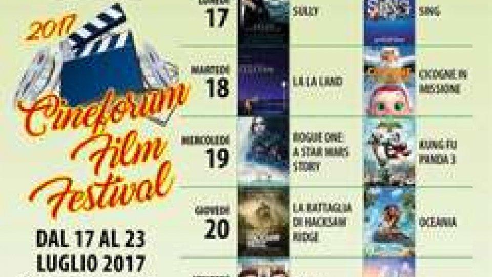 Film e testimonianze al Cineforum Film Festival
