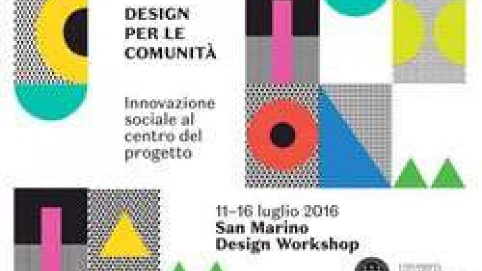 Tutto pronto per la design week dell'università di San Marino: workshop, conferenze e mostre