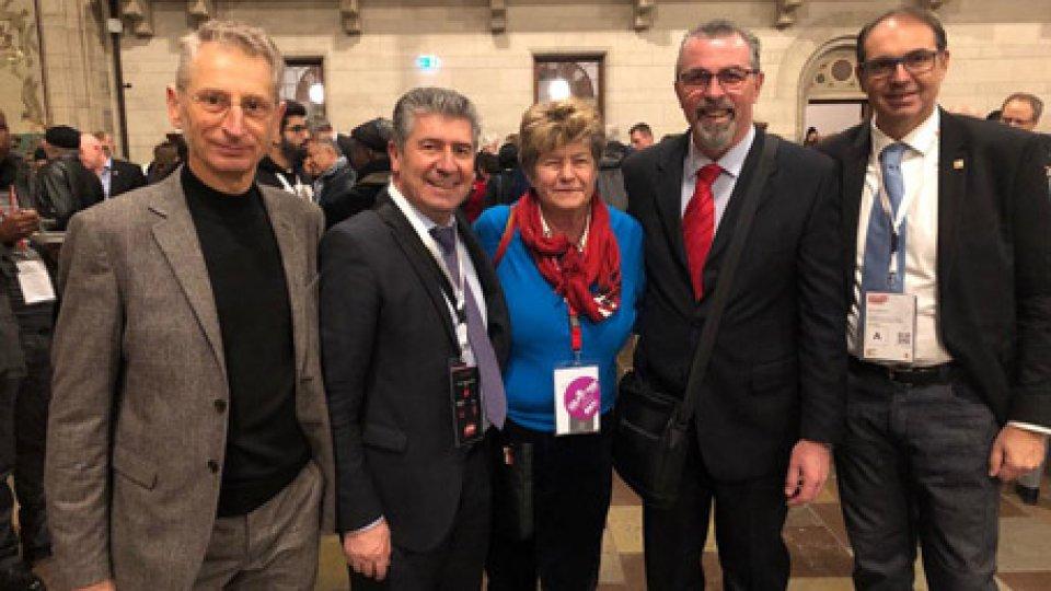 Le Confederazioni sammarinesi al 4° Congresso del sindacato mondiale