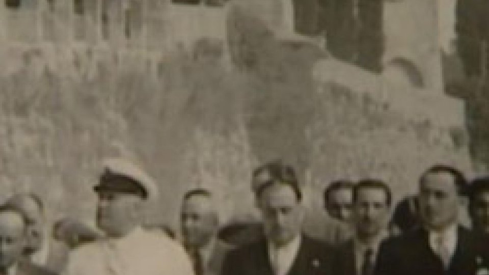 Mussolini a San Marino