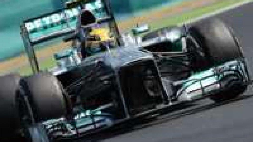 F1, Ungheria: prima perla di Hamilton in Mercedes.GP Ungheria: la prima di Hamilton