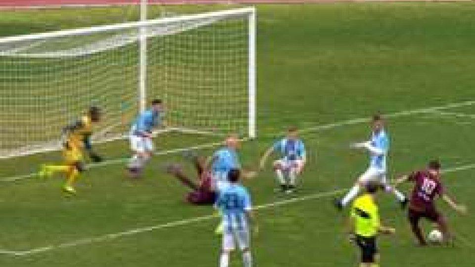Il gol dell'AgnoneseSerie D Girone F: al San Marino Stadium vincono tutti, anche l'Agnonese di Pino Di Meo