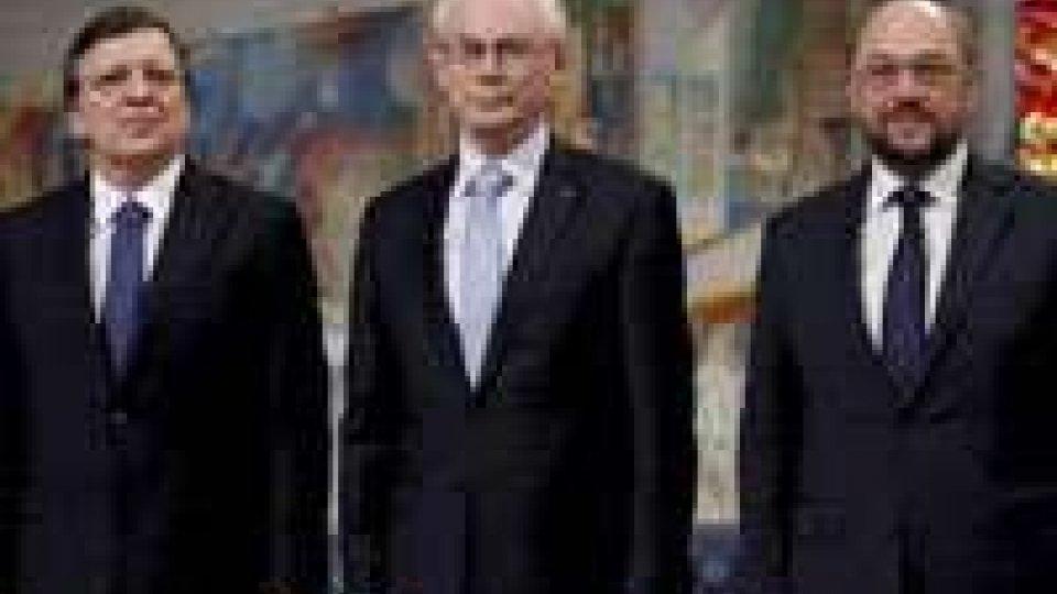Nobel per la pace consegnato a Ue