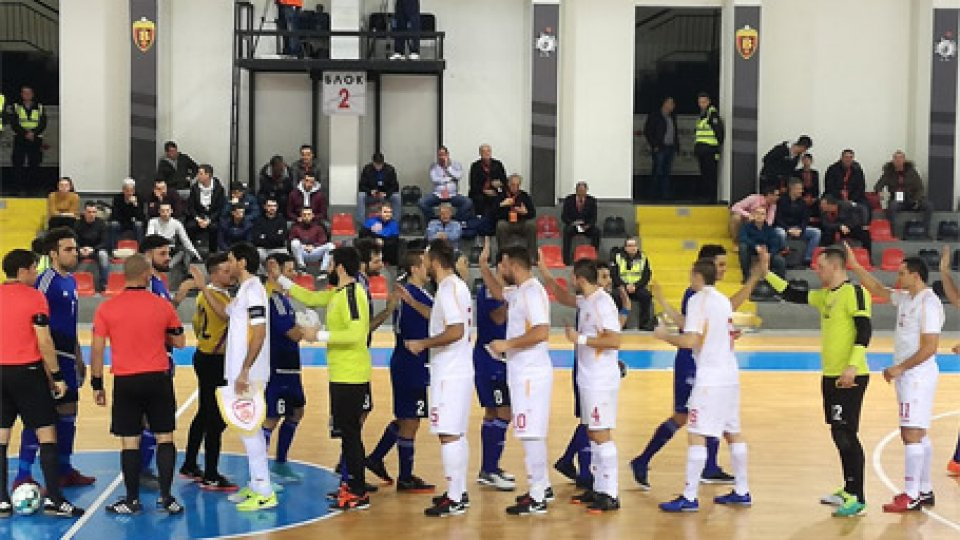 La partitaFutsal, la Macedonia picchia: San Marino ko 7-0