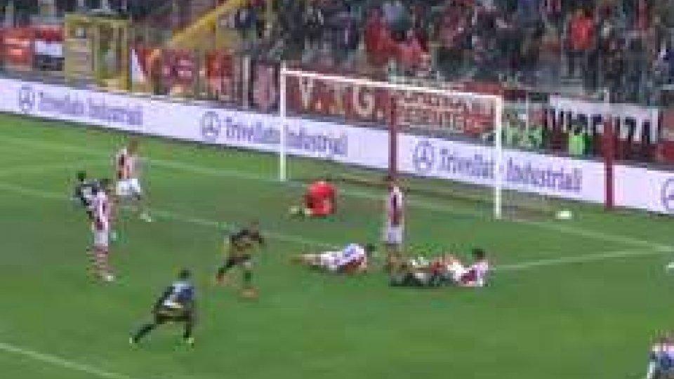 Serie C Girone B: Il Santarcangelo batte a domicilio il VicenzaSerie C Girone B: Il Santarcangelo batte il Vicenza e lascia ai biancorossi l'ultimo posto in classifica