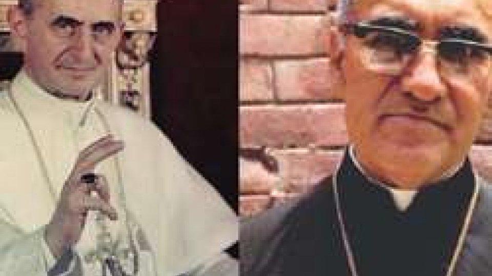 Paolo VI e Mons Romero