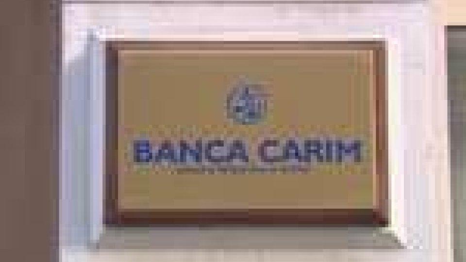 Svolta per il salvataggio di Banca Carim