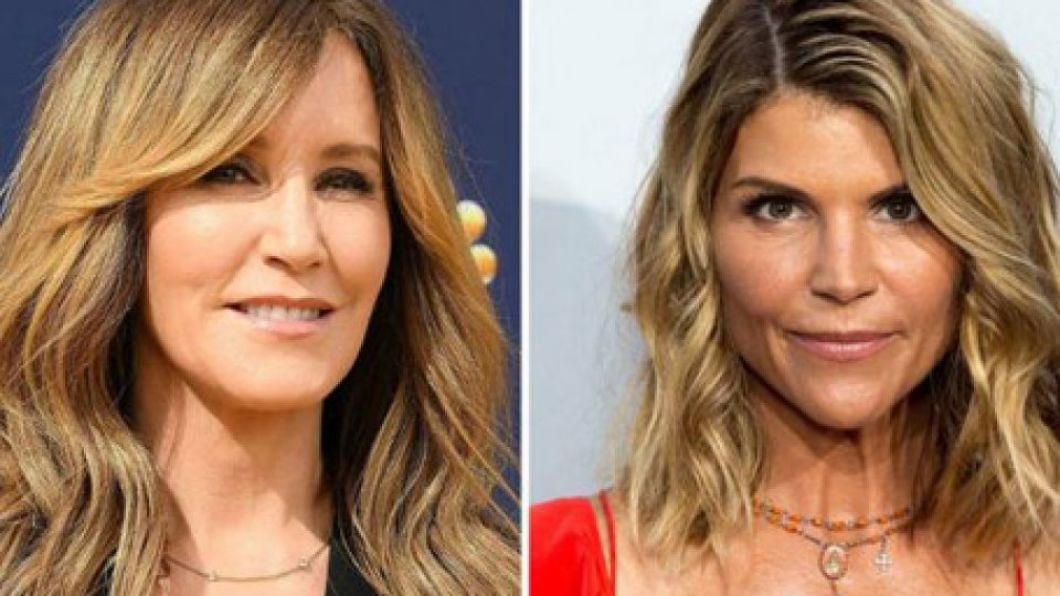 Felicity Huffman Lori Loughlin @hollywoodreport