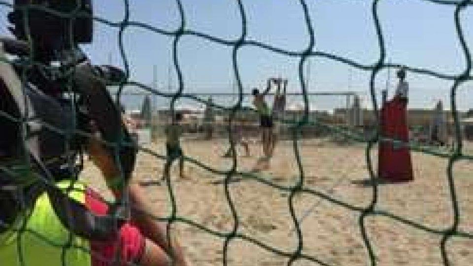 Pescara 2015: San Marino k.o all'esordio con la Slovenia nel beach volley