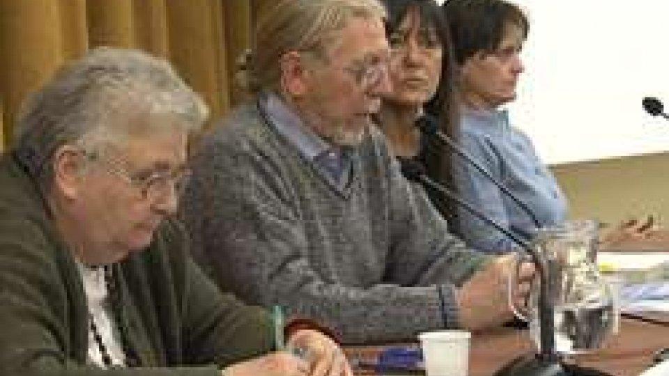 A sinistra Agnese MoroA Rimini la forza del perdono di Agnese Moro
