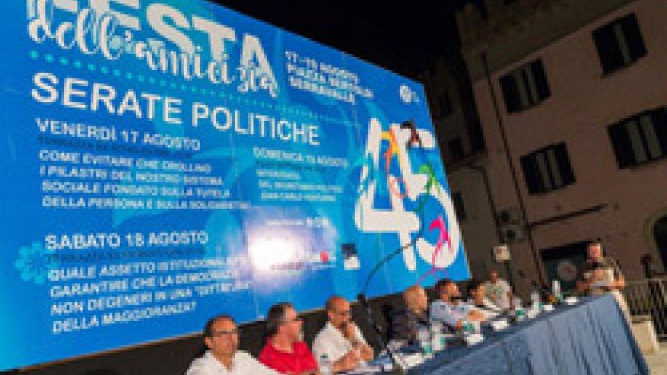 """Festa dell'AmiciziaBeccari, Pdcs: """"La sanità resti resti pubblica e gratuita per tutti. No all'aumento dell'età pensionabile"""""""