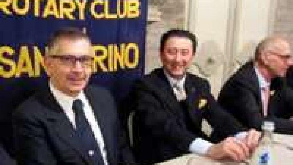 Rotary: rapporti Usa San Marino al centro della conviviale
