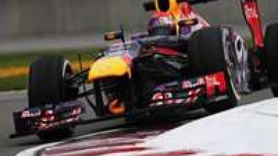 F1: un pezzo di metallo la causa delle forature di Vettel e Alonso