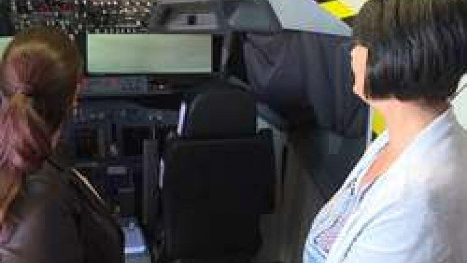I Capitani Reggenti all'AeroclubAeroclub sammarinese: la visita della Reggenza