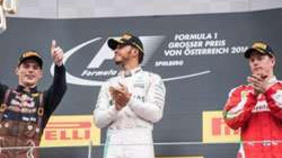 Hamilton riapre Mondiale in Austria