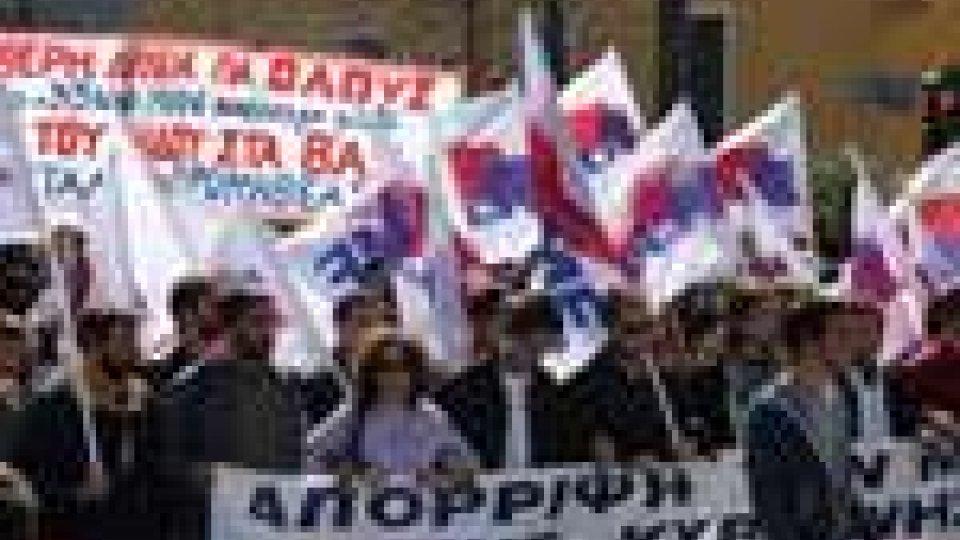 Grecia: giornata cruciale